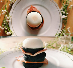 Black Pudding Stack