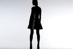 11 -2 女優雅 洋裝 編織