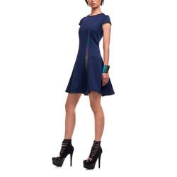 12-2 _女 優雅 洋裝 藍