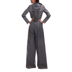 5-3 _女 Judy 外套 寬褲