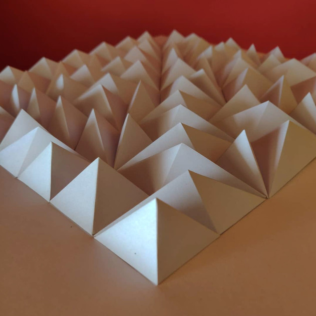 Recreating STATIC by Matthew Shlian