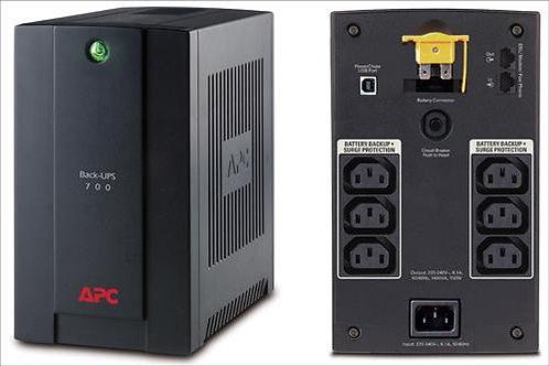 APC Back-UPS 1400VA, 230V, AVR, IEC Sockets.