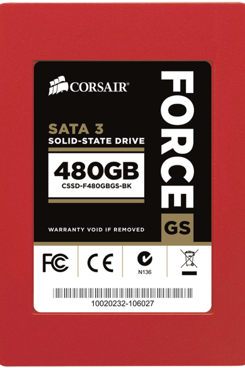 Force Series™ GS 480GB SATA 3 6Gb/s SSD