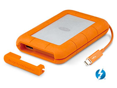 LaCie Rugged 1TB Thunderbolt & USB 3.0