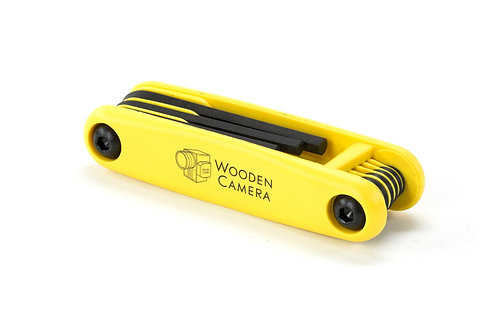 Wooden Camera Wrench Set (Standard)