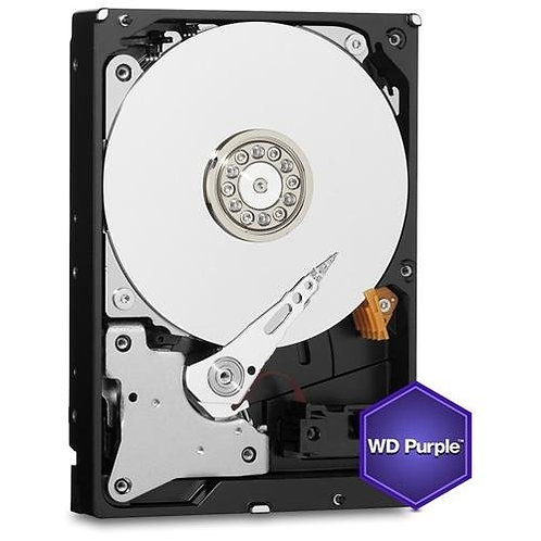 "WD Purple 6TB 3.5"" SATAIII 64Mb Hard Drive"