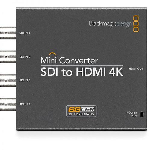 BlackMagic Mini Converter – SDI to HDMI 4K