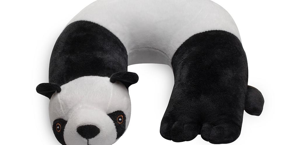 Panda Critter Piller™ Kids Neck Pillow