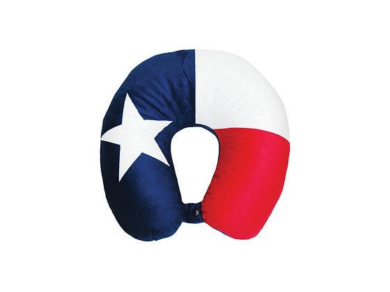 Texas Flag Signature Fiber-Filled Neck Pillow