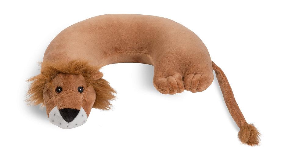 Lion Critter Piller™ Kids Neck Pillow