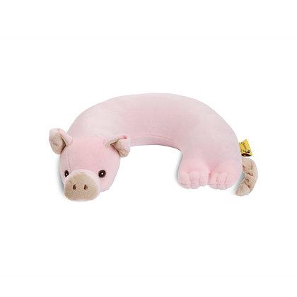 Pig Critter Piller Neck Pillow