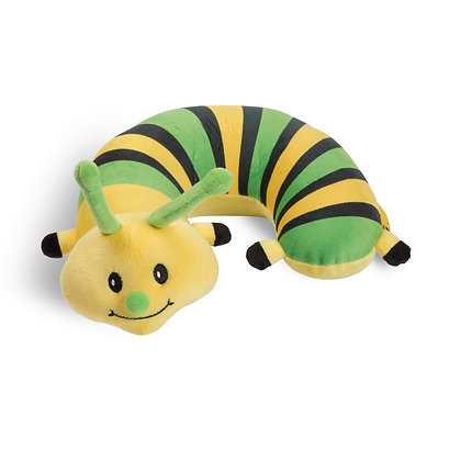 Caterpillar Critter Piller Neck Pillow
