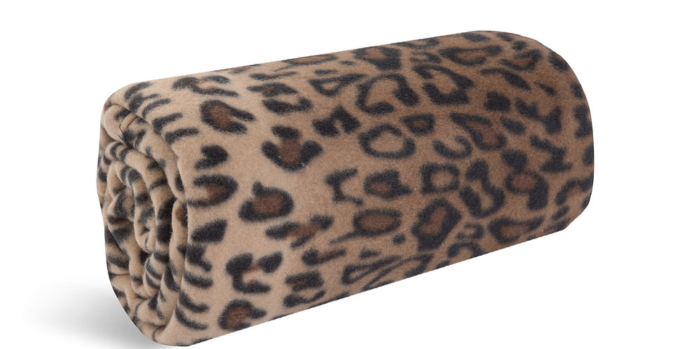 Leopard Signature Microfleece Blanket