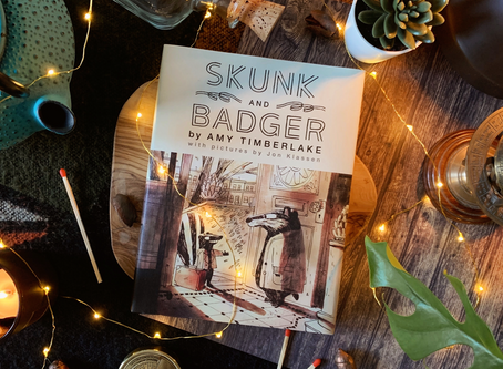 Book Review: Skunk & Badger by Amy Timberlake and Jon Klassen