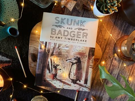 Book Review: Skunk & Badger by Amy Timberlake and Jon Klassen