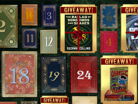 Christmas Giveaway & Bookish Advent Calendar