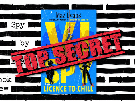 Book Review: Vi Spy by Maz Evans