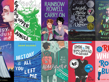 Gay YA: Vote for your M/M favourites!