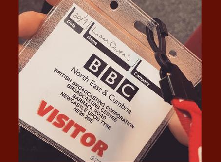I Got Interviewed on BBC Radio Newcastle! 😱
