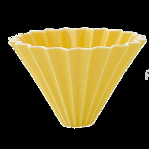 Воронка для кофе ORIGAMI, желтая