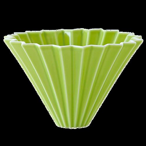 Воронка для кофе ORIGAMI, зеленая