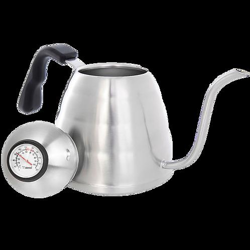 Чайник Tiamo стальной с термометром, 0.9л