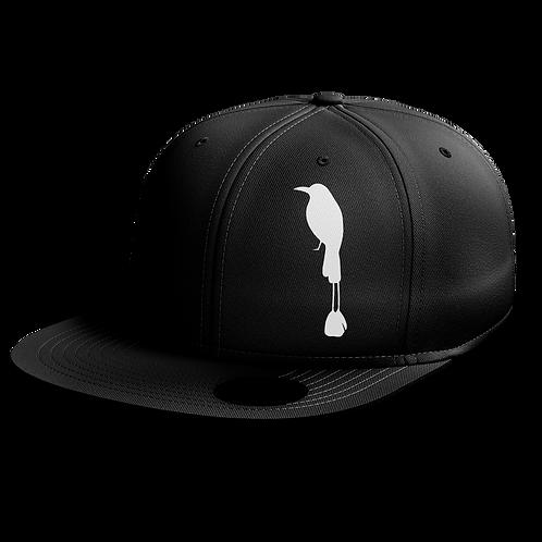 Бейсболка черная August coffee