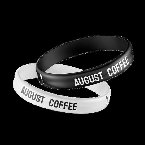 Браслет силиконовый August coffee
