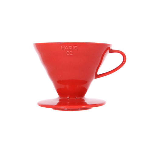 Воронка пластиковая Hario VD-02 Red