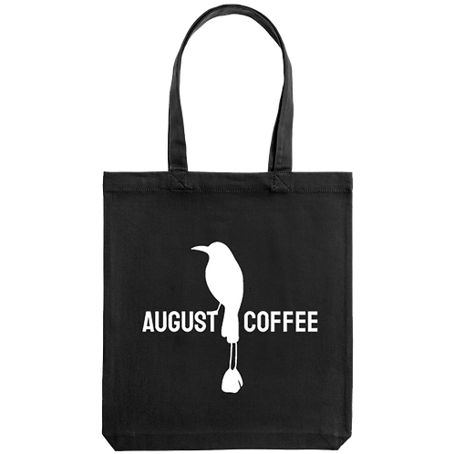 Шоппер черный August coffee