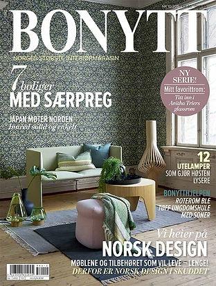 NORA er plukket ut av BONYTT til utstilling på Oslo Design Fair