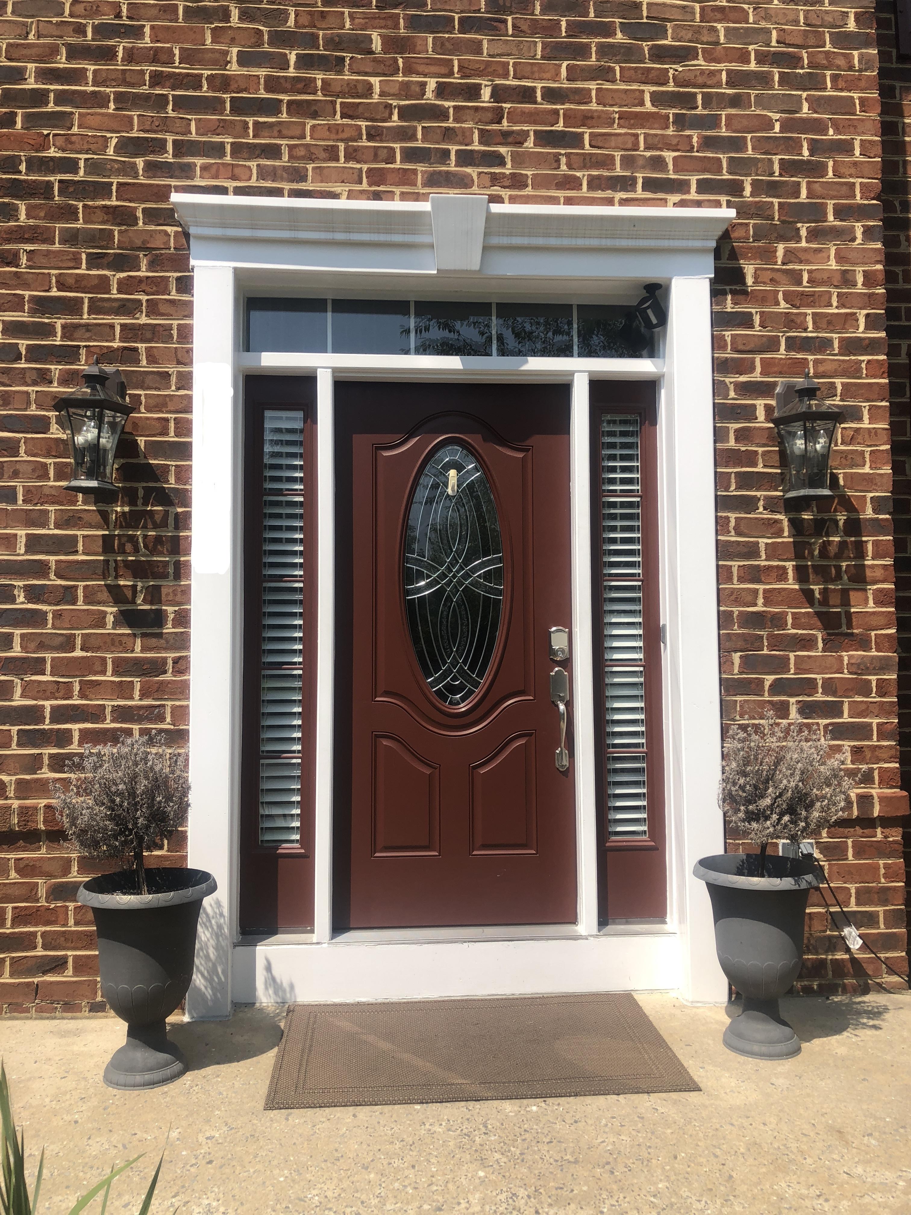 Before- Entry door