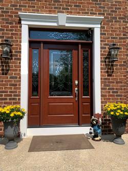 After- Custom Door