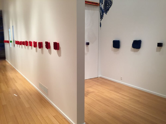 Installation view at Headbones Gallery, Vernon, 2017