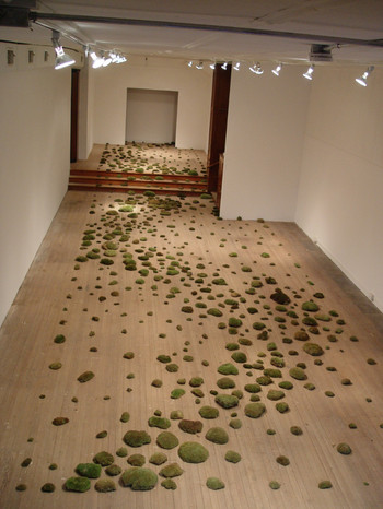 Christian Bernard Singer Untitled Meandering I, 2003 Moss ArtSite, Wellsville, NY
