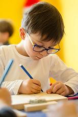 Aplikujeme vzdělávací metodu Mensa NTC learning pro maximální rozvoj mozkových synapsí u dítěte.