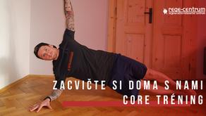 Zacvičte si s nami doma - Core tréning