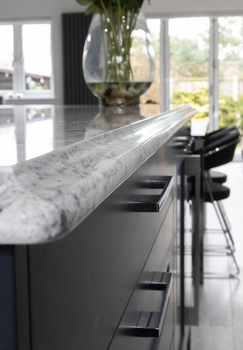 marble breakfast bar