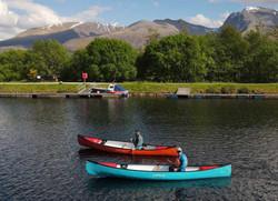 pair of canoeists