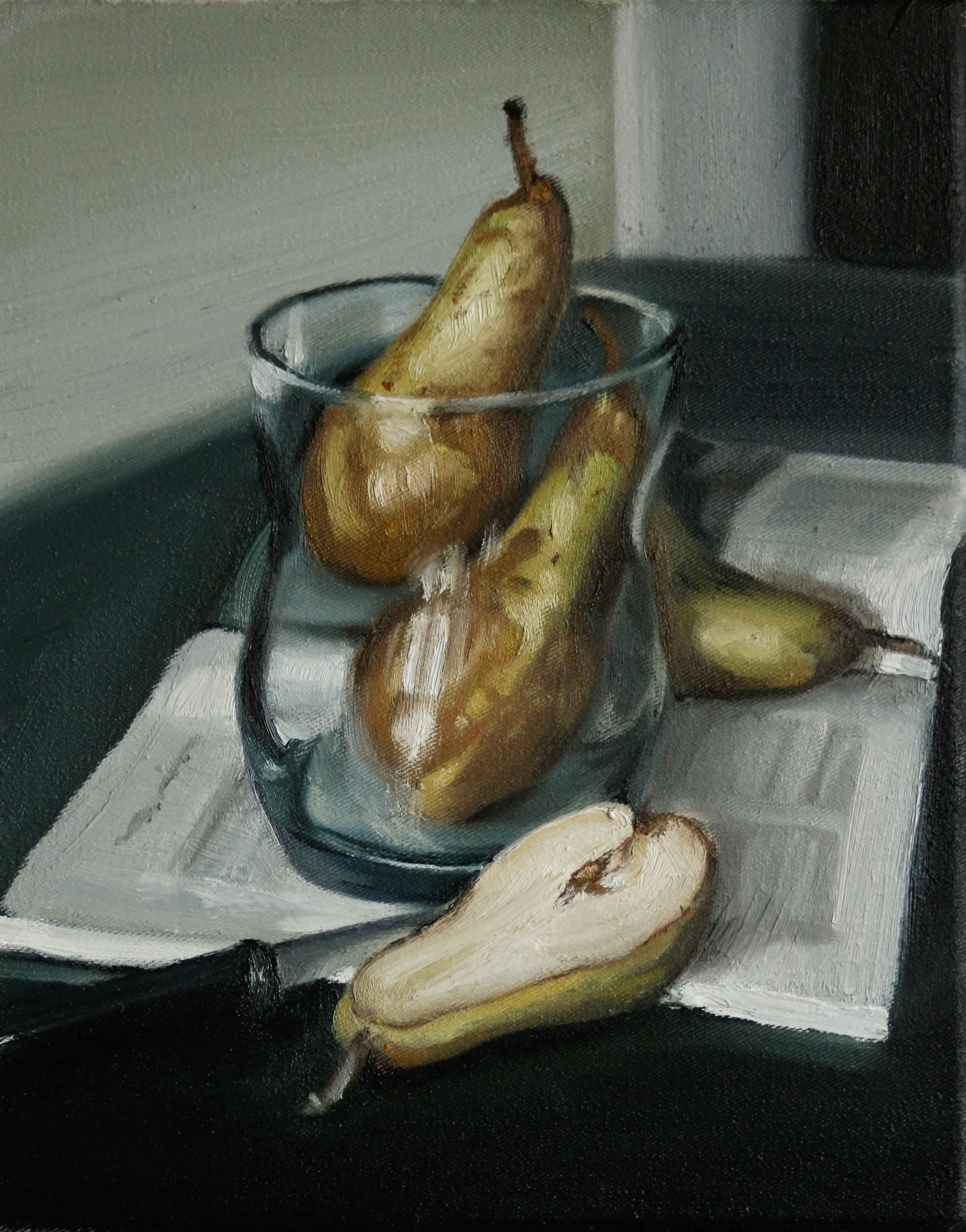 Pears in a Glas, Fashion Magazine
