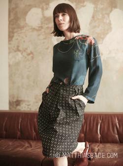 Anneke Kim Sarnau goes Fashion