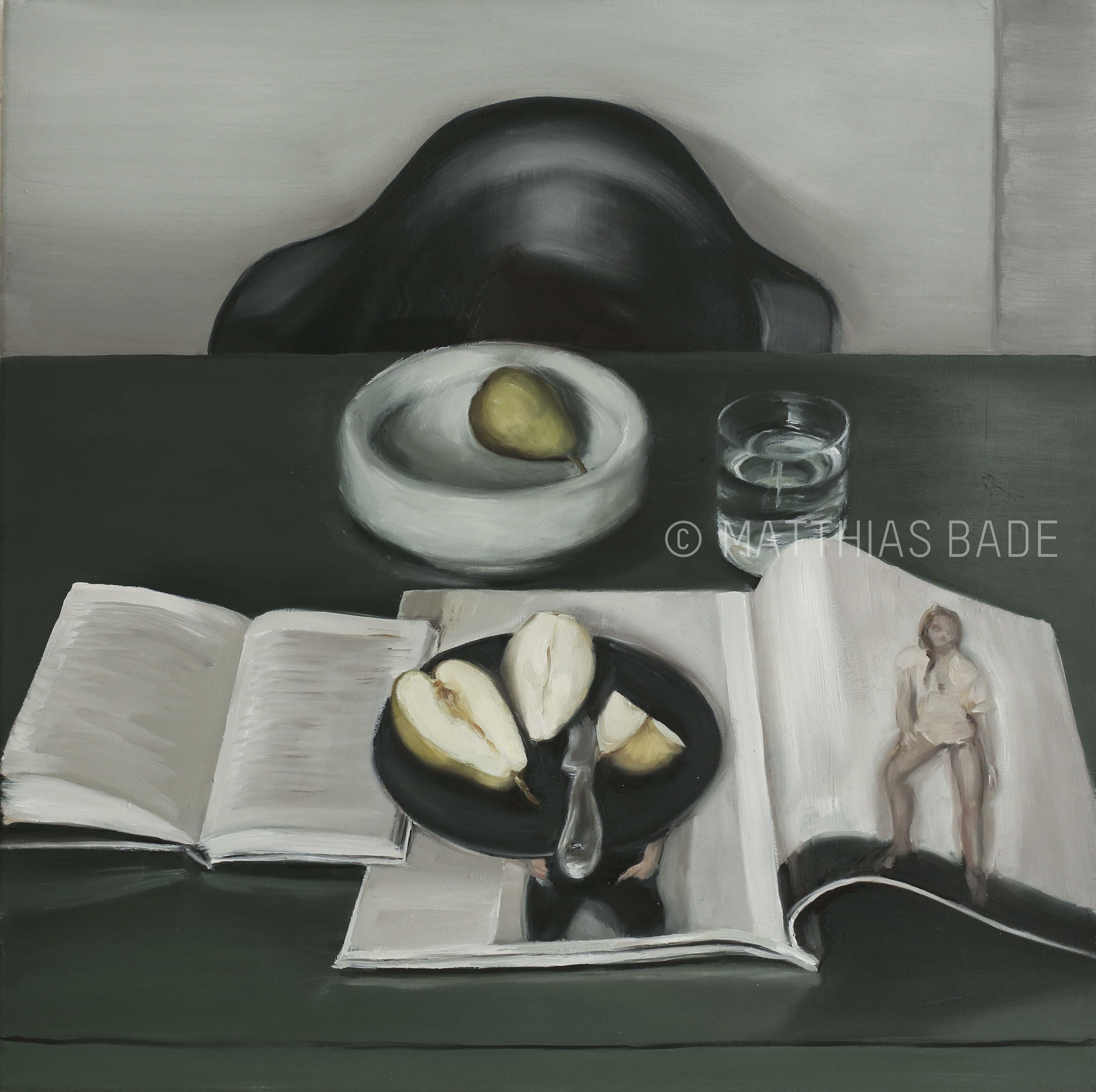 """""""Birnen mit Buch"""" / """"Pears..."""""""