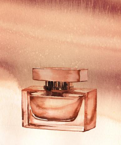 Jil Sander Perfume Bottle