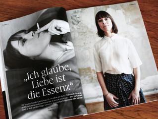 Portraitserie Anneke Kim Sarnau im Magazin EMOTION