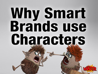 Why Smart Brands use Characters