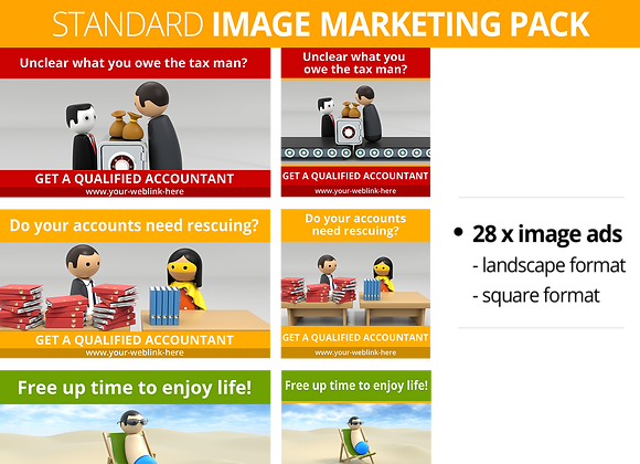 Accountant STANDARD Image Marketing Pack