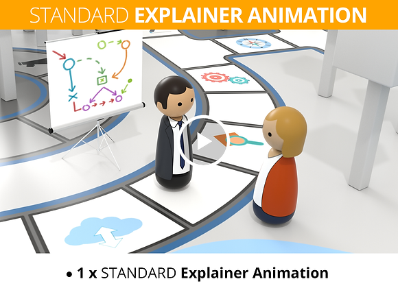 Business Coach STANDARD Explainer Animation