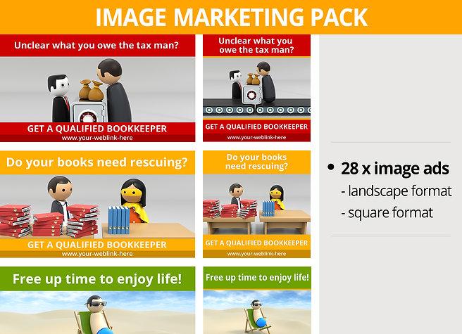 Bookkeeper Image Marketing Pack