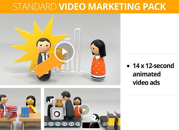 Bookkeeper STANDARD Video Marketing Pack