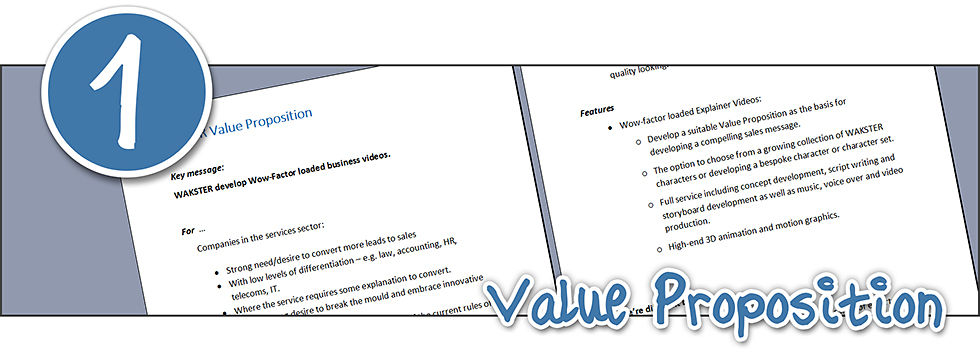 example of a value proposition document